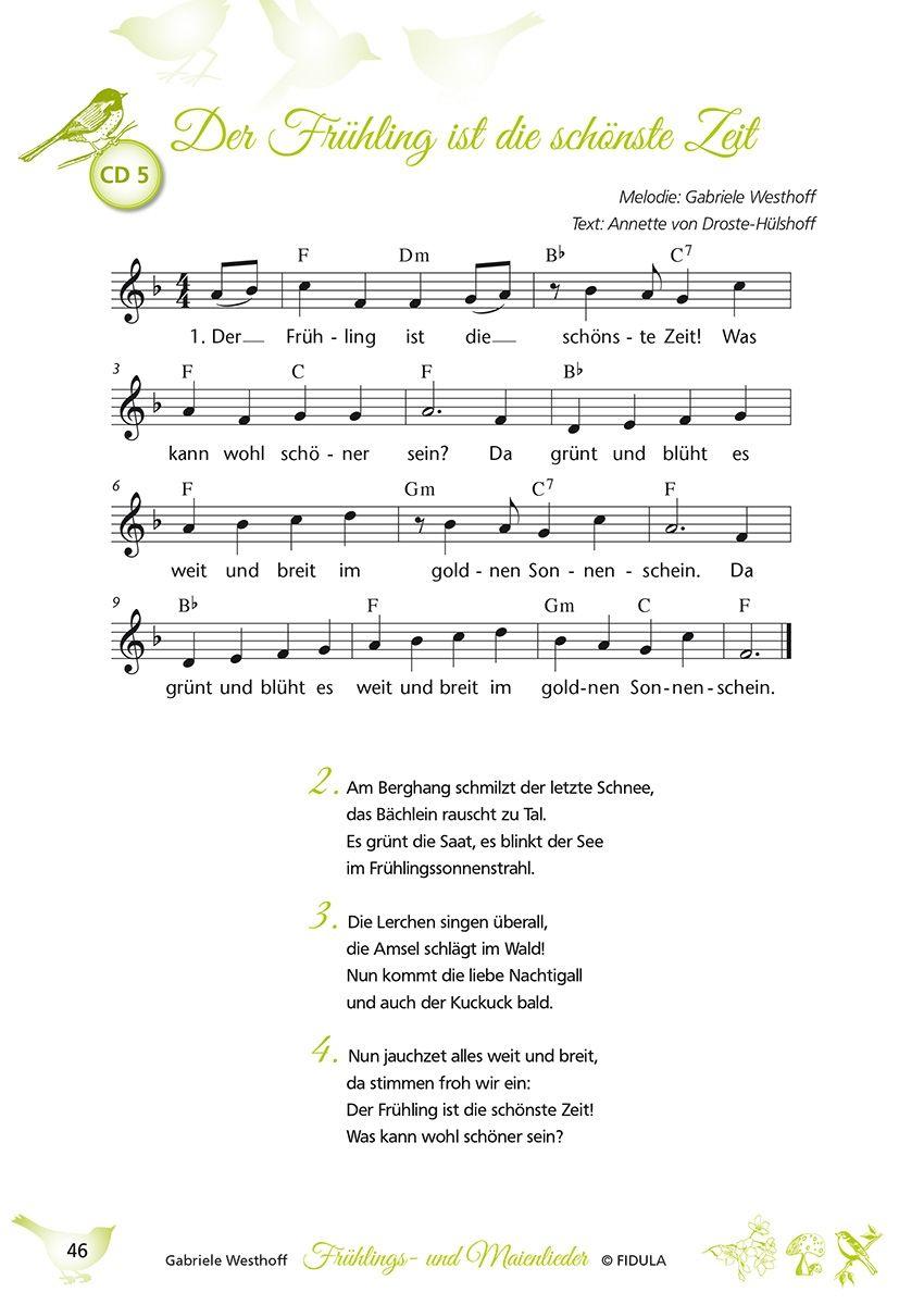 Frühlings- Und Maienlieder (Mit Bildern) | Kinder Lied bestimmt für Frühlingslieder Rolf Zuckowski