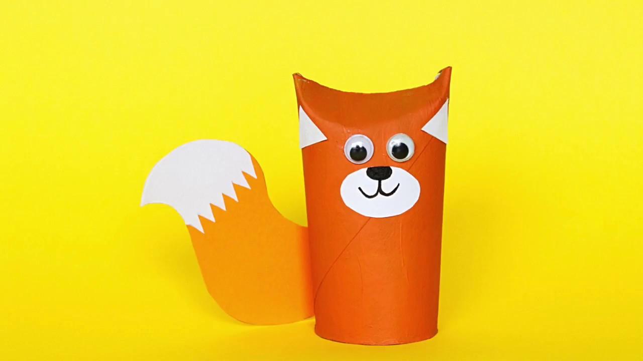 Fuchs Basteln? - Einfache & Schnelle Bastelvorlagen Für ganzes Bastelvorlage Fuchs