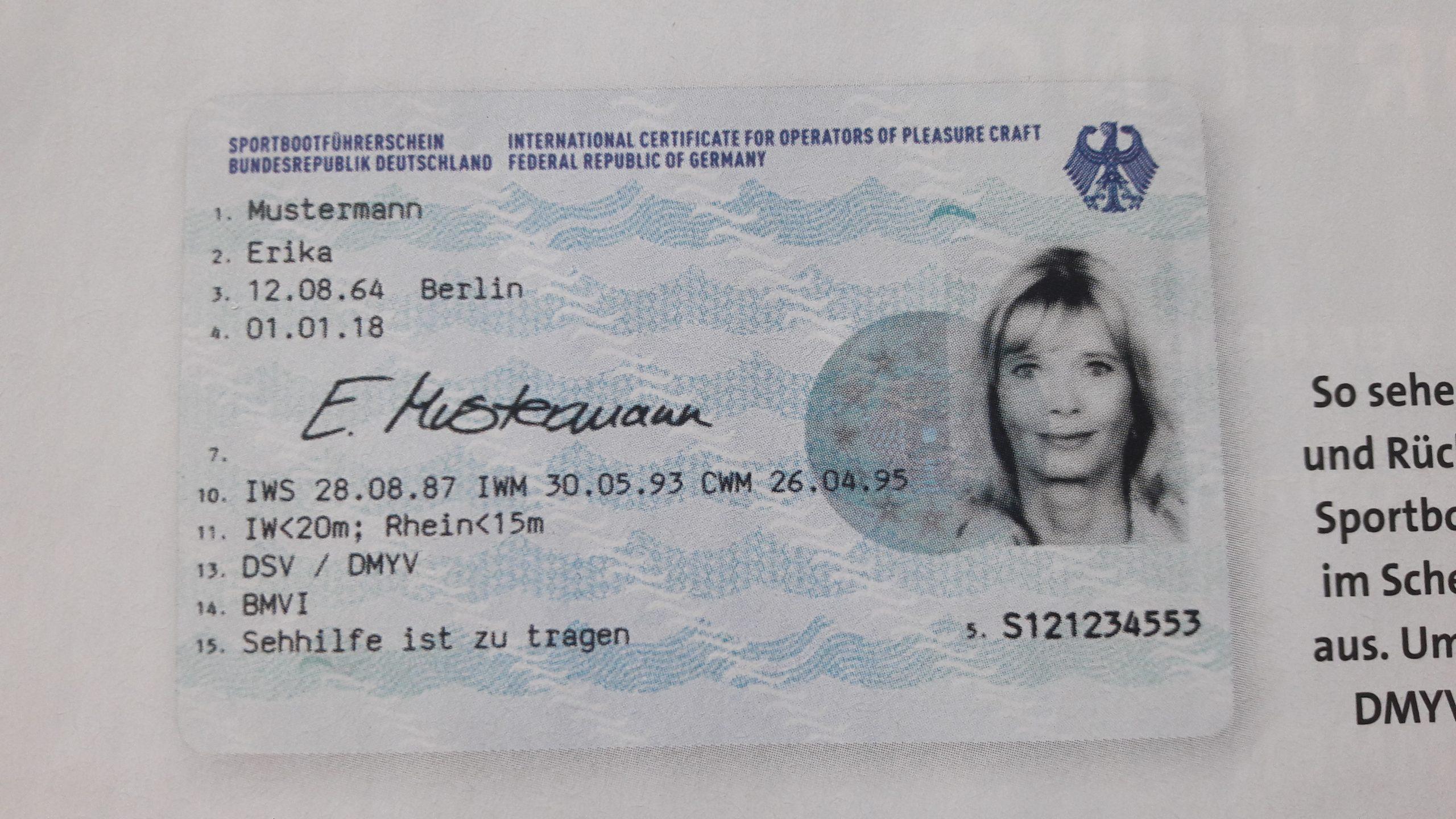 Führerscheine : Bootschule Freden ganzes Motorbootführerschein Berlin Kosten