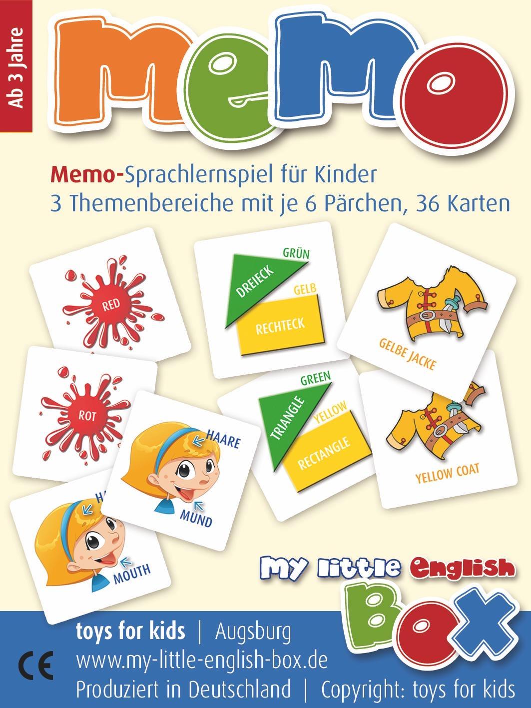 Fun Archive - My-Little-English-Box bestimmt für Memory Für Kindergartenkinder Online