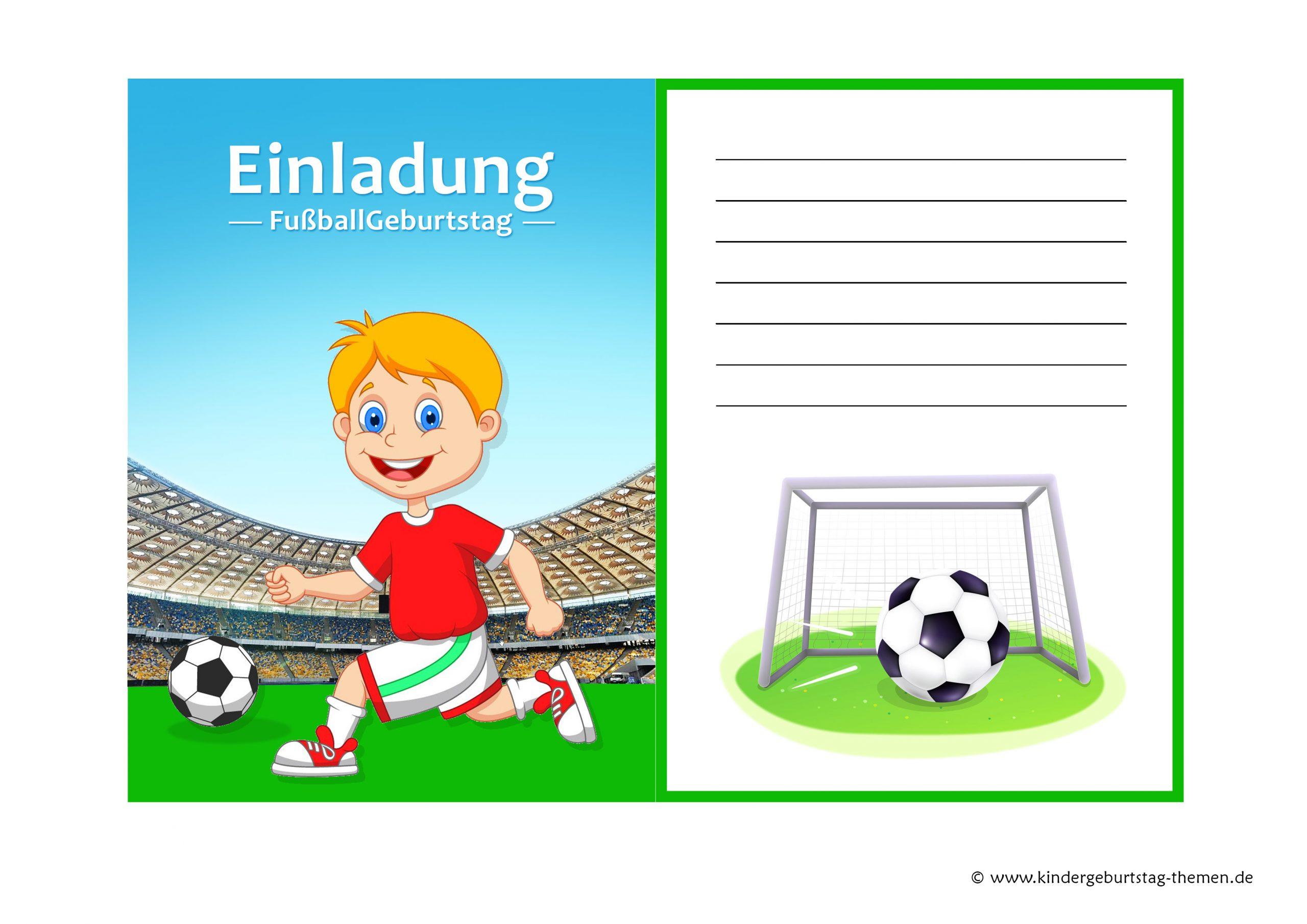 Fussball Einladung: Kostenlose Vorlagen Zum Ausdrucken verwandt mit Fussball Vorlagen Zum Ausdrucken
