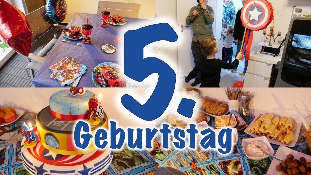 Fynn's 5. Geburtstag 🎊 | Avenger Party & Geschenke | Weihnachtsgeschenke  Tipps? bestimmt für Geschenk Junge 5 Geburtstag