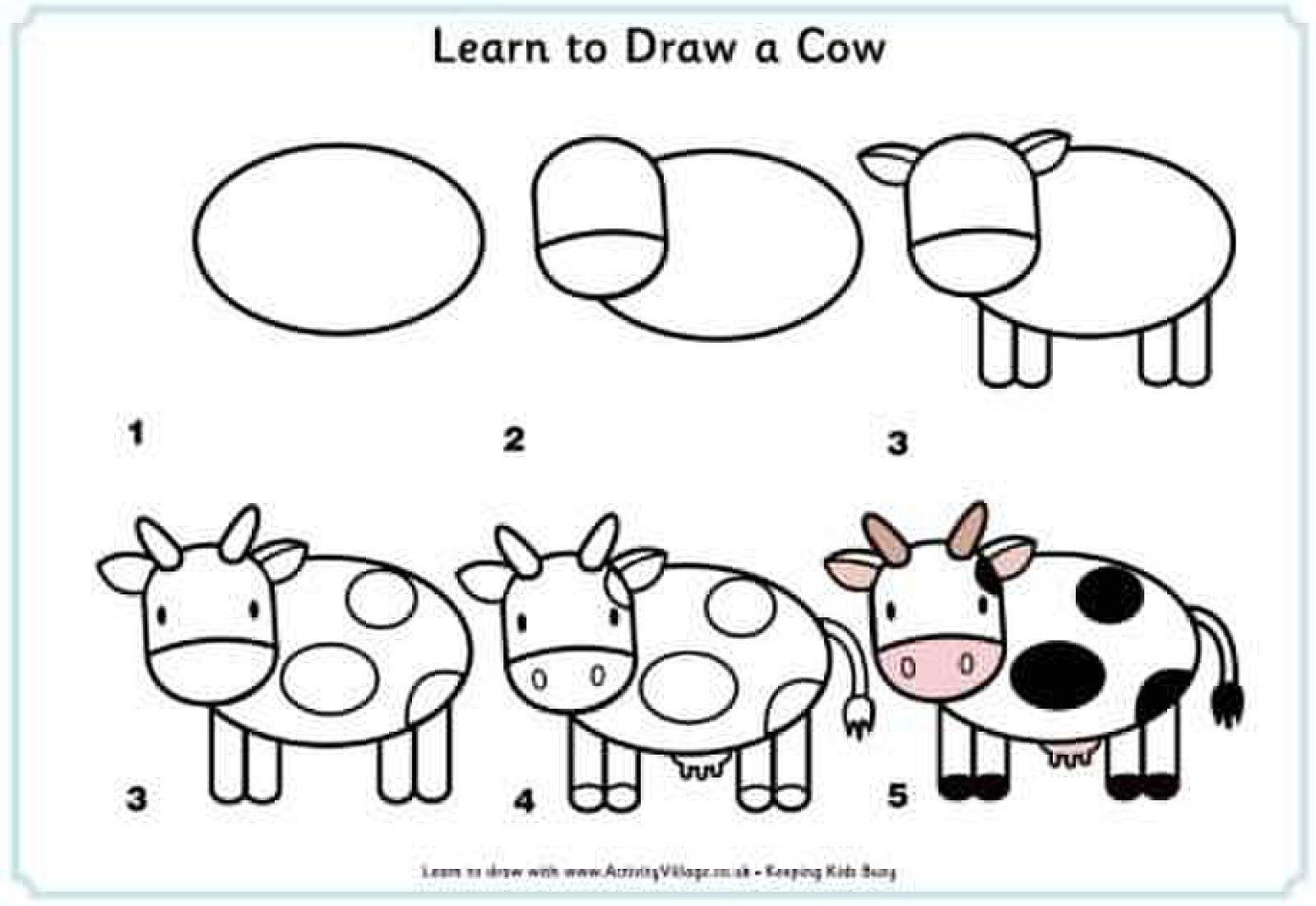 Garfield Art Rocks!   Kuh Zeichnen, Malen Und Zeichnen über Kuh Malen