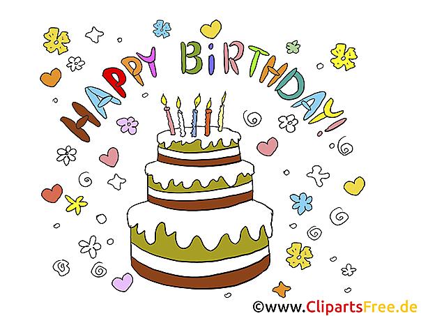 Geburtstag Bilder Torte bestimmt für Geburtstagsbilder Zum Ausdrucken Kostenlos