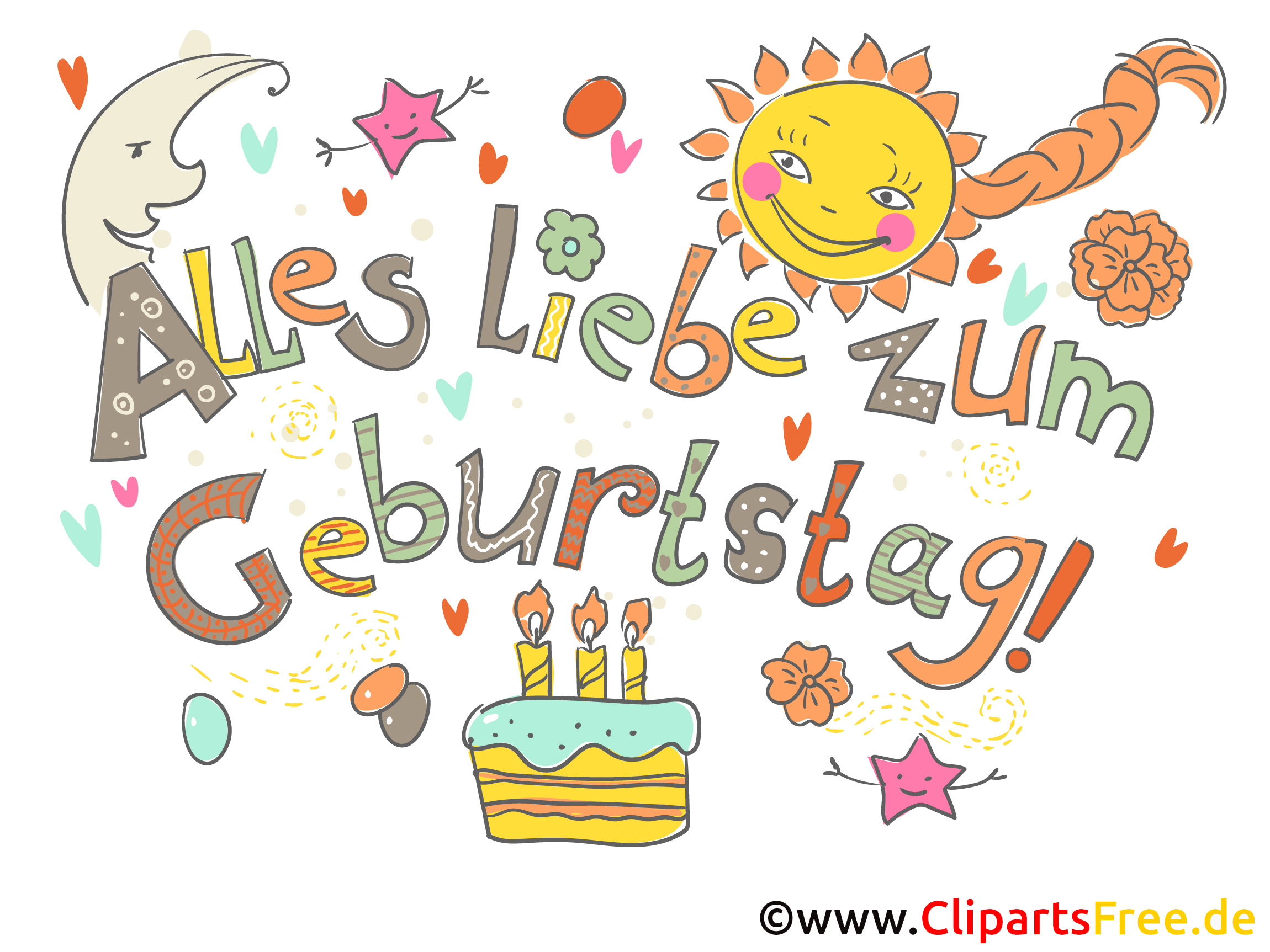 Geburtstag Cliparts Kostenlos bei Cliparts Geburtstag Kostenlos