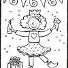 Geburtstag Mädchen 6 Jahre - Kiddimalseite mit Ausmalbilder Geburtstag