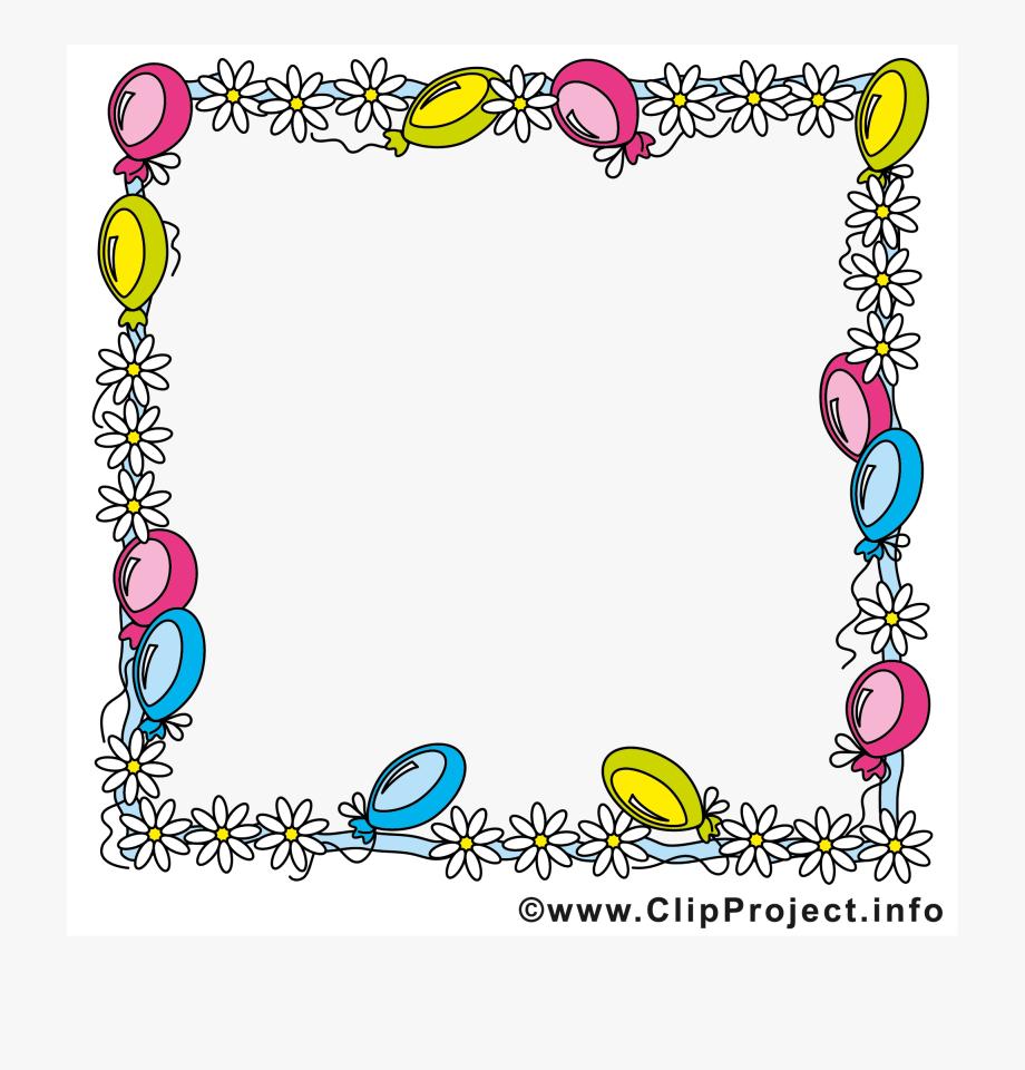 Geburtstag Rahmen Clipart , Transparent Cartoon, Free für Clipart Geburtstag Kostenlos