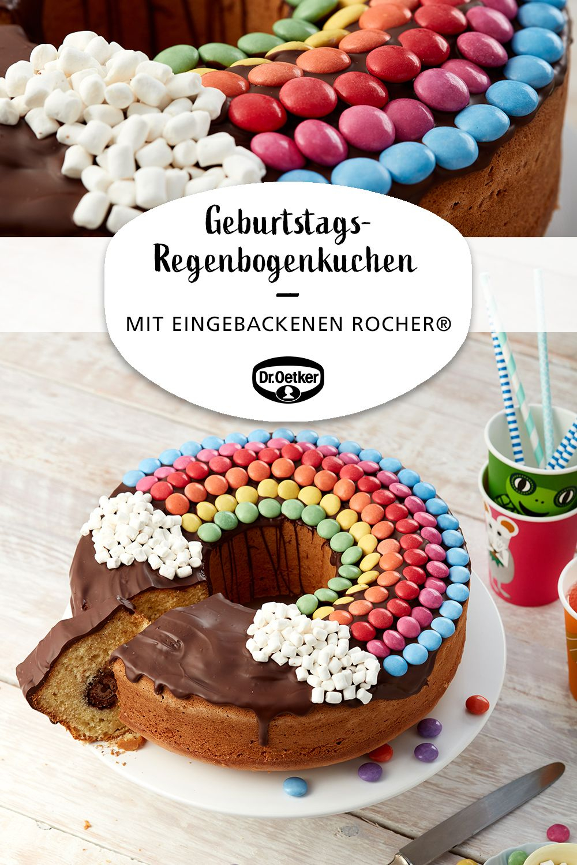 Geburtstags-Regenbogenkuchen | Rezept (Mit Bildern) | Kuchen in Torte Für Geburtstag