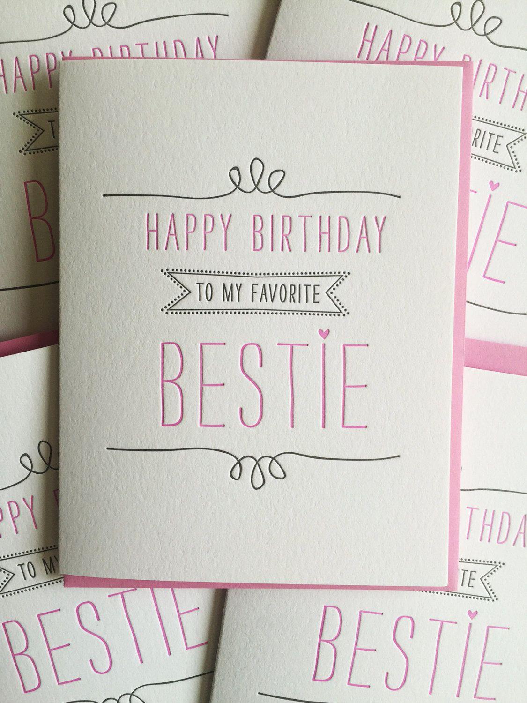 Geburtstagskarte Für Die Beste Freundin-Karte Beste Freund ganzes Coole Geschenke Für Beste Freundin