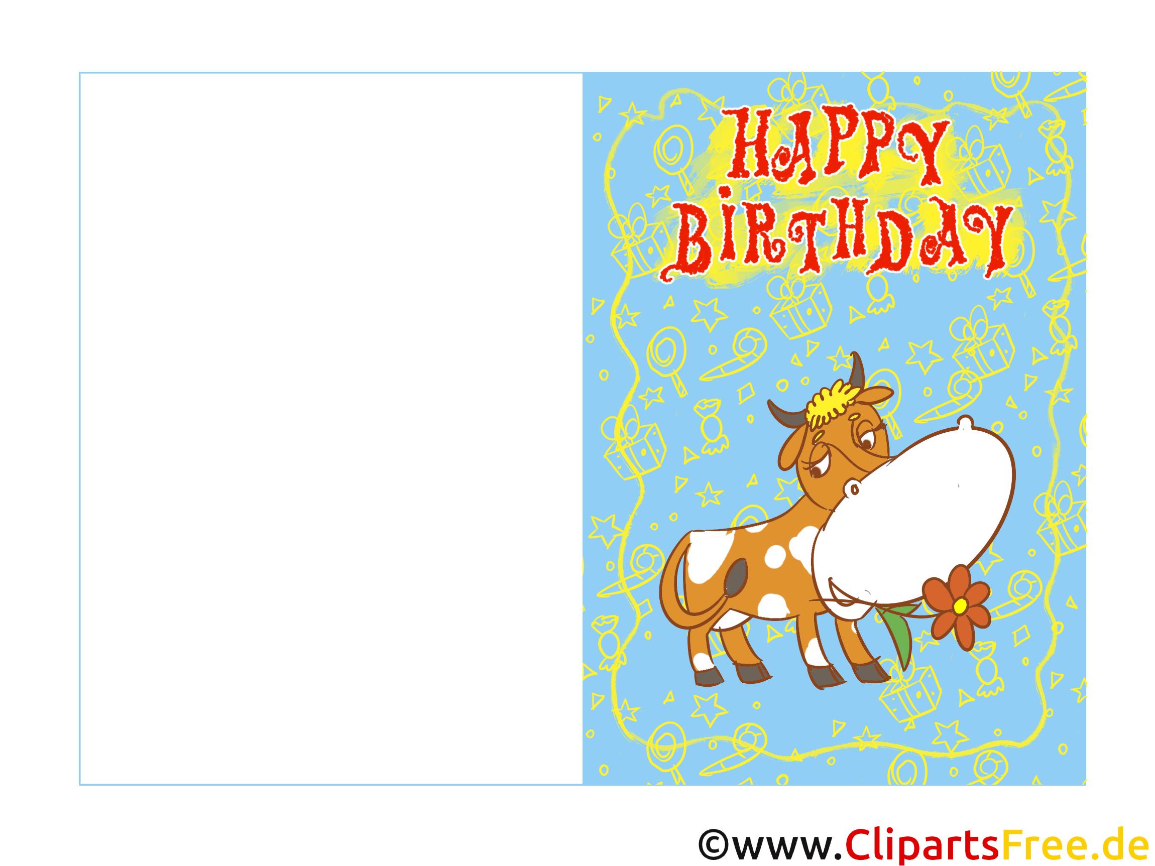 Geburtstagskarten Ecards Zum Selbst Drucken Zum Kindergeburtstag innen Geburtstagskarten Selber Drucken