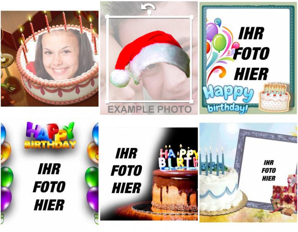 Geburtstagskarten Online - Photoeffekte mit Geburtstagskarte Online Kostenlos