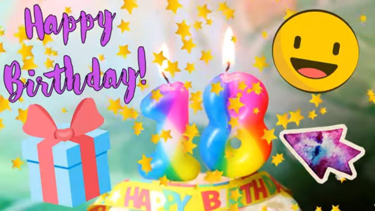 Geburtstagsvideo 18. Geburtstag Für Whatsapp Kostenlos, Schöne  Geburtstagslieder Von Thomas Koppe für Bild Geburtstag Kostenlos