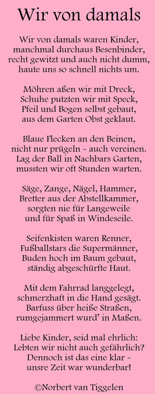 Gedichte, Mitten Aus Dem Leben, Von Norbert Van Tiggelen bei Geburtstagsgedichte Für Kinder Lustig