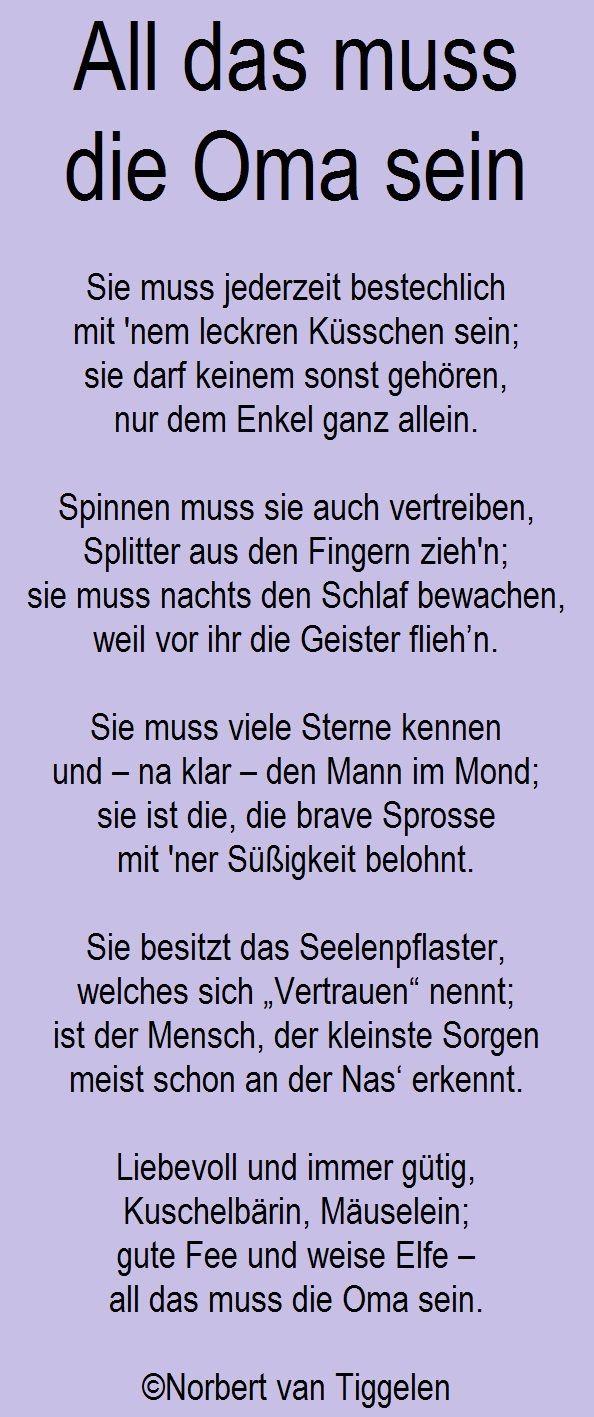 Gedichte, Mitten Aus Dem Leben, Von Norbert Van Tiggelen über Geburtstagsgedichte Für Oma Von Enkeln