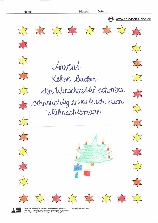 Gedichtwerkstatt Zu Weihnachten - Mit Gewinnspiel! bei Weihnachtsgedichte Grundschule