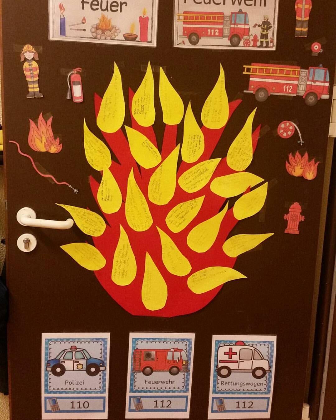 Gefällt 38 Mal, 1 Kommentare - @grundschul_Poppins Auf mit Thema Feuerwehr Im Kindergarten Basteln