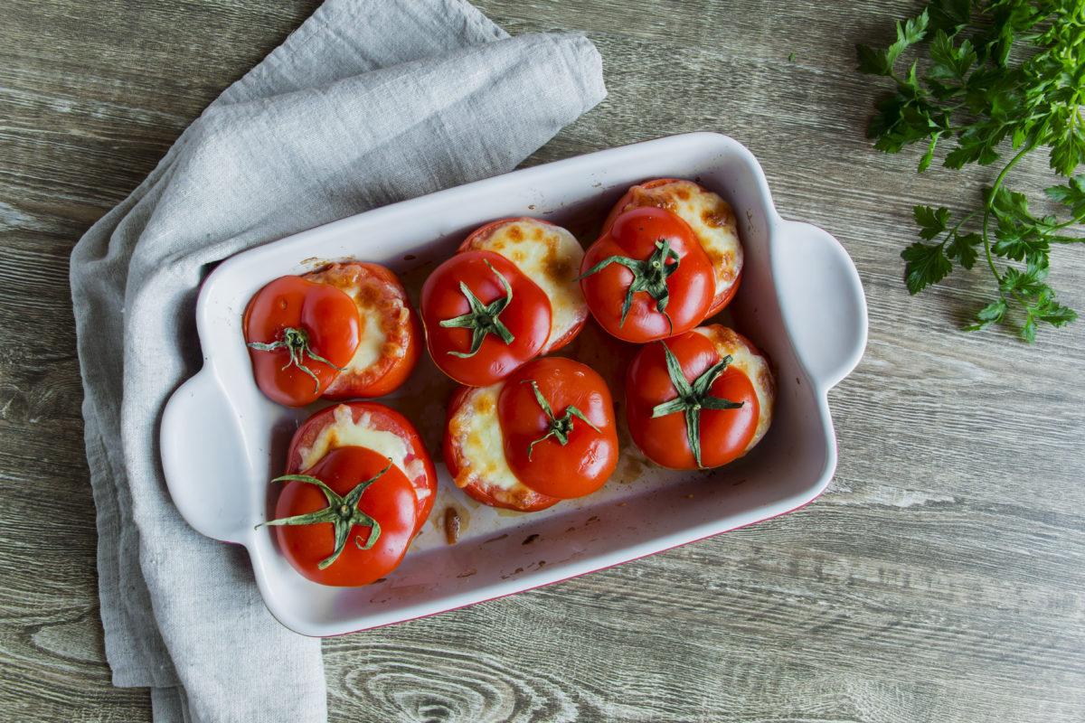 Gefüllte Tomaten Mit Schafskäse - Grillart innen Gefüllte Tomaten Mit Schafskäsecreme