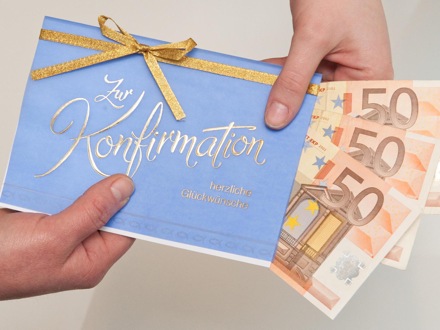 Wieviel Geld Schenkt Man Zur Konfirmation 2021