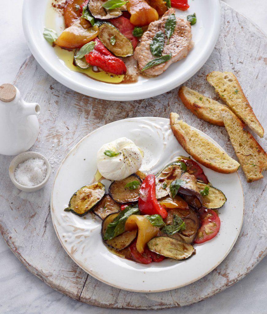 Gemüse-Antipasti innen Essen Und Trinken Gemüse