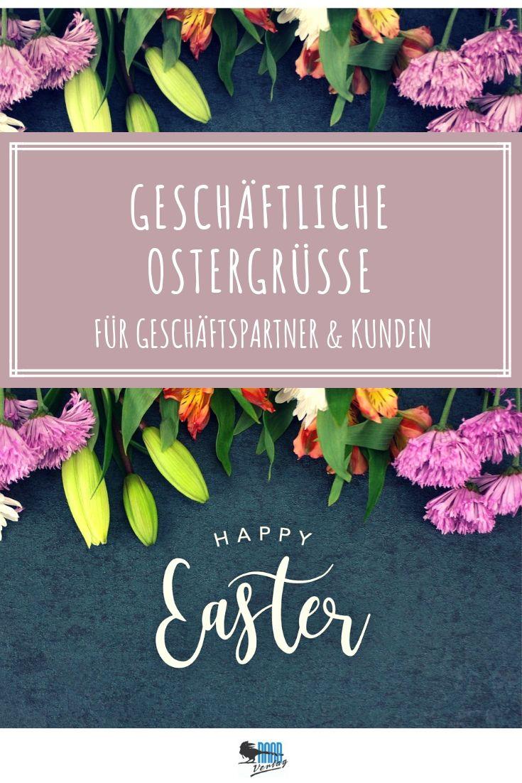 Geschäftliche Ostergrüße Für Ihre Kunden & Geschäftspartner verwandt mit Osterglückwünsche Auf Englisch