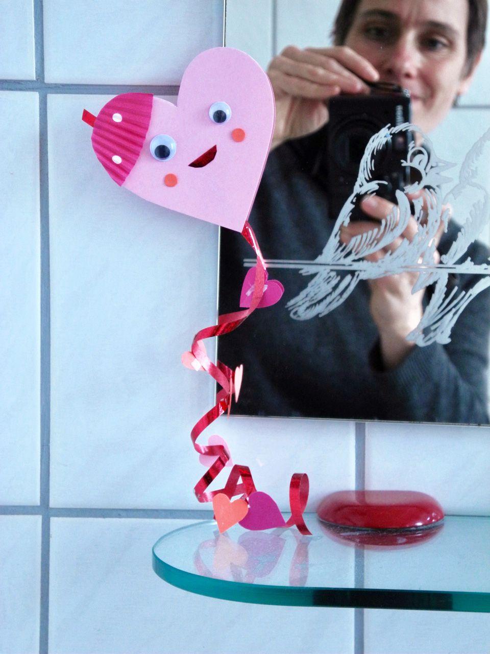 Geschenk Zum Valentinstag: Herzchen-Drachen // Diy-Idee in Originelle Geschenke Zum Valentinstag