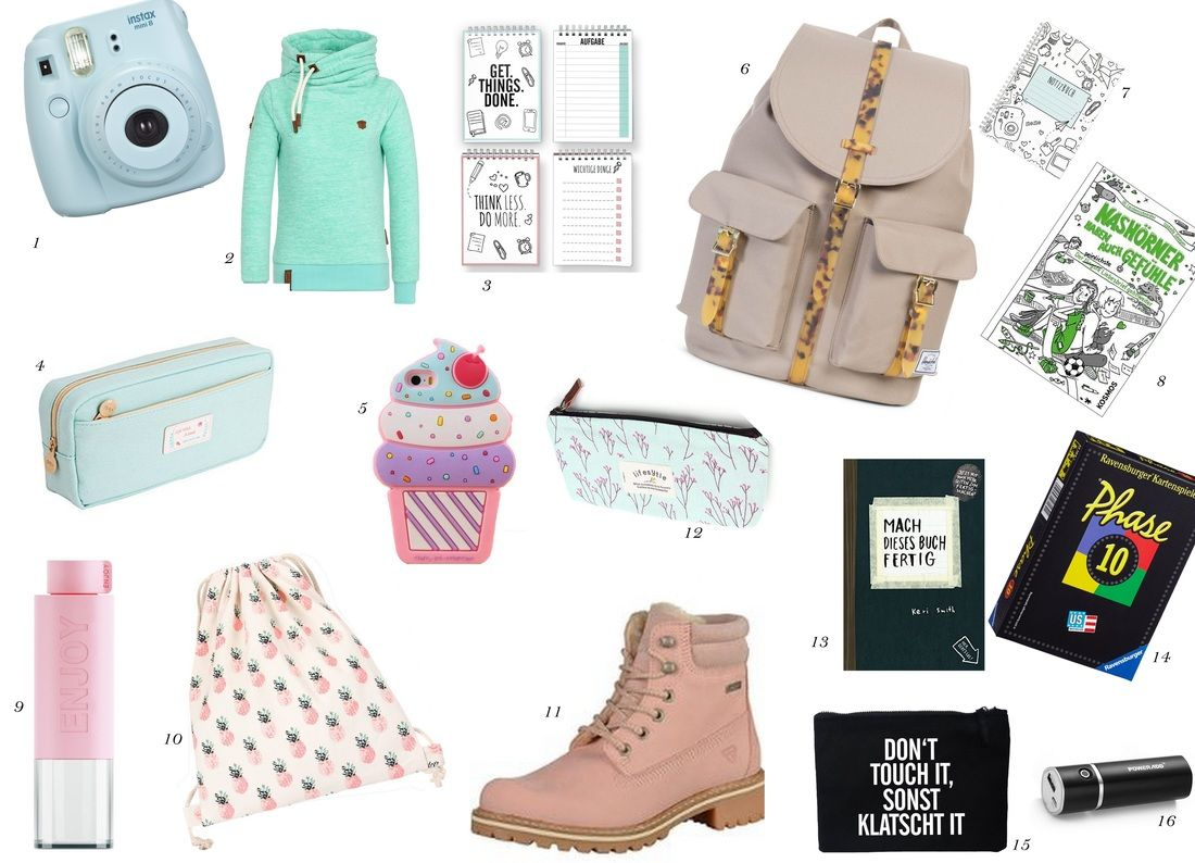 Geschenke Teenager – Wishlist Für Die Teenie-Party verwandt mit Geburtstagsgeschenke Für 12 Jährige
