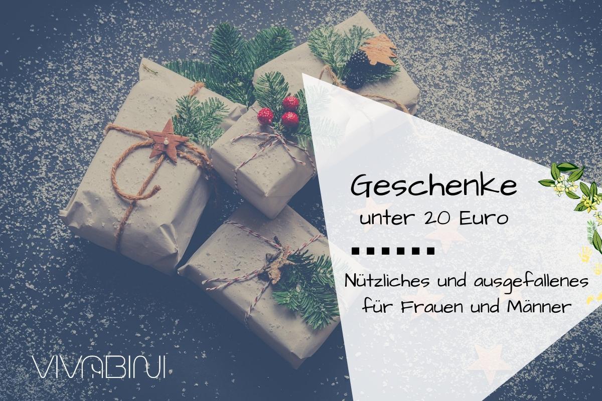 Geschenke Unter 20 Euro Für Frauen Und Männer | Vivabini bei Spezielle Geschenke Für Männer