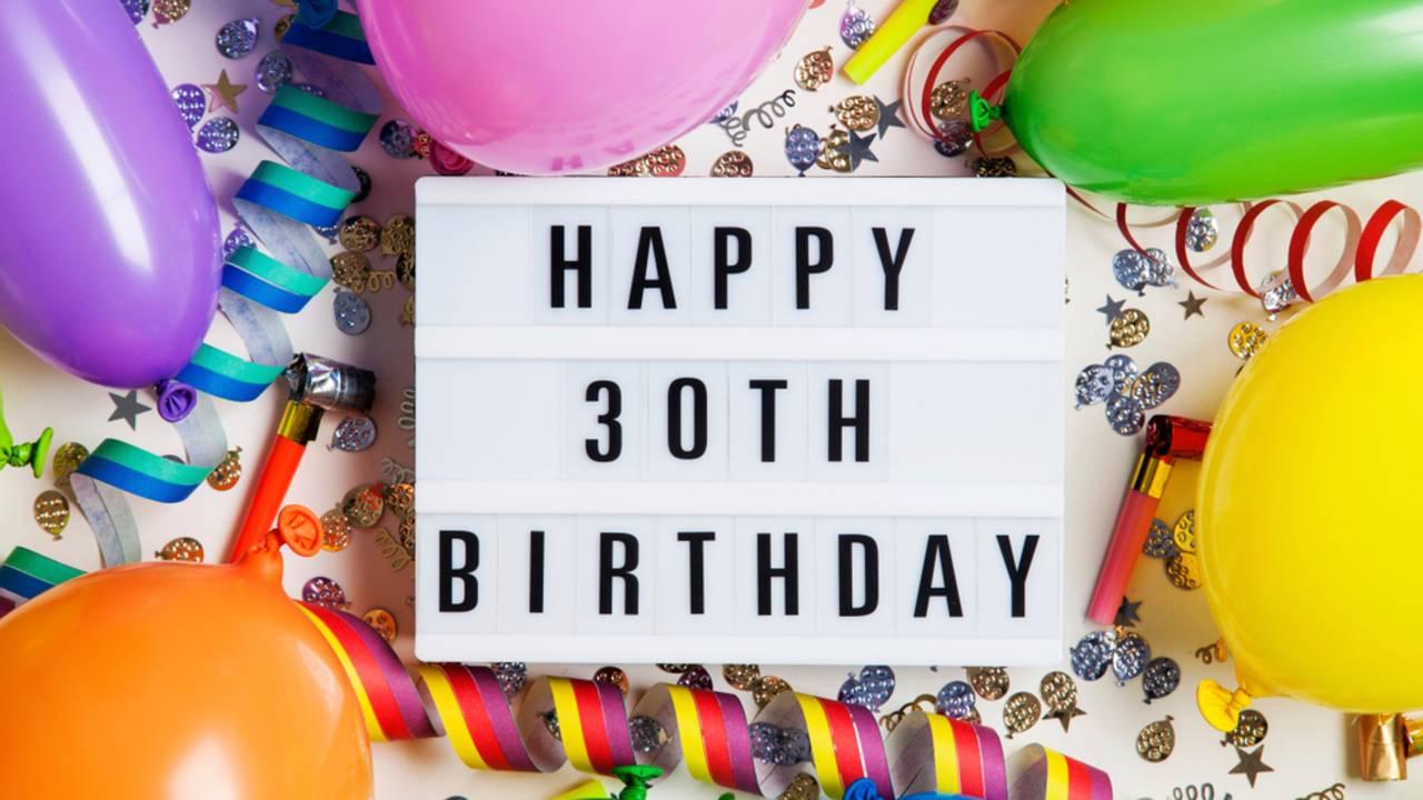 Geschenke Zum 30. Geburtstag: Mit Diesen Ideen Liegst Du innen 30 Dinge Zum 30 Geburtstag Frau