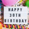 Geschenke Zum 30. Geburtstag: Mit Diesen Ideen Liegst Du mit Geburtstagsüberraschung Zum 30