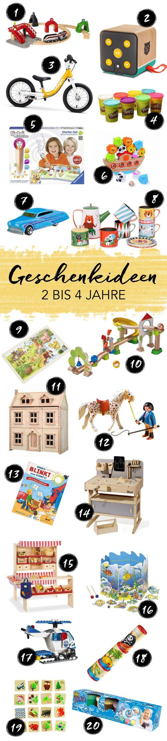 Geschenkideen Für Kinder Im Alter Von 2 Bis 3 Jahren innen Geburtstagsgeschenk Für 4 Jähriges Mädchen