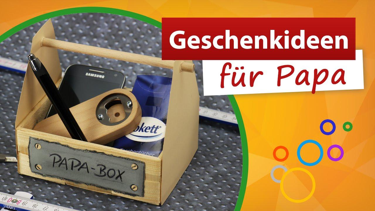 Geschenkideen Für Papa 💚 Vatertag Bastelidee - Trendmarkt24 bei Weihnachtsgeschenke Für Papa Selber Machen