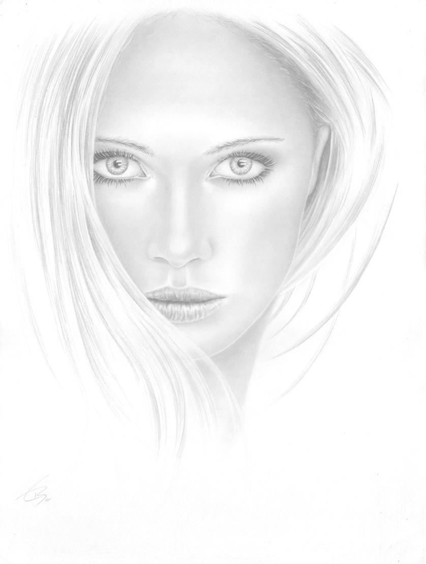 Gesicht, Auge, Mund, Nase, Portait Zeichnen Lernen in Gesicht Zeichnen Anleitung