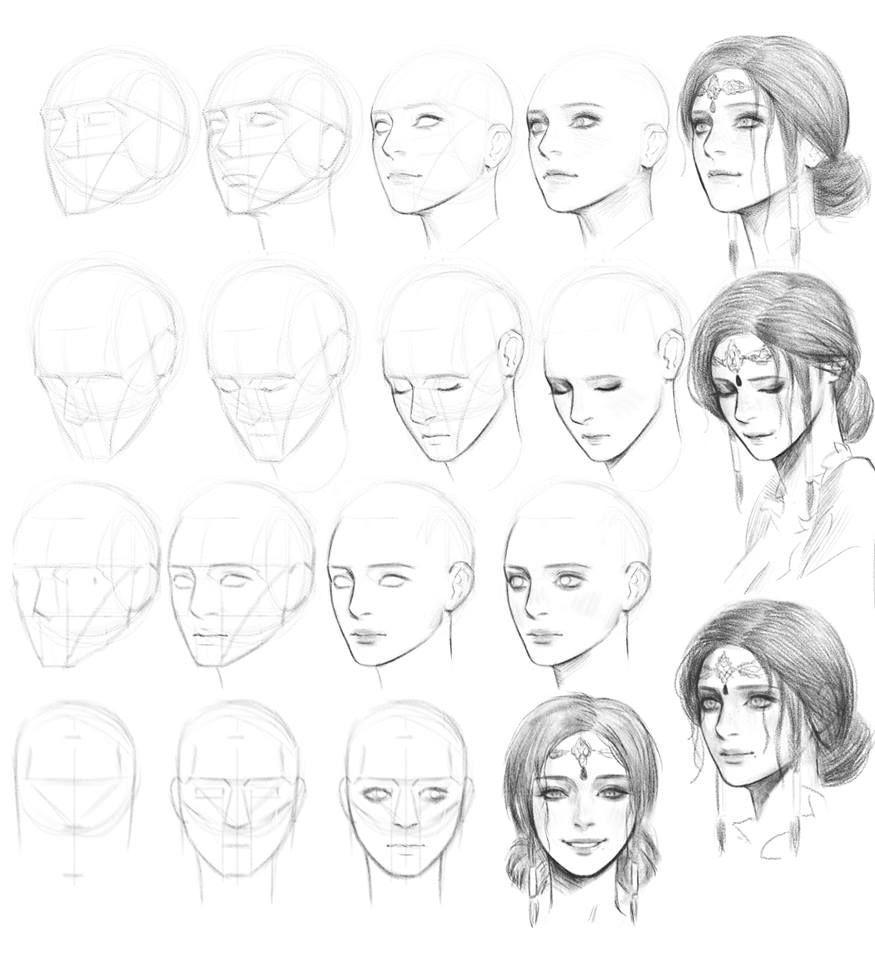 Gesicht Zeichnen Schritt Für Schritt – Szukaj W Google In ganzes Gesicht Zeichnen Anleitung