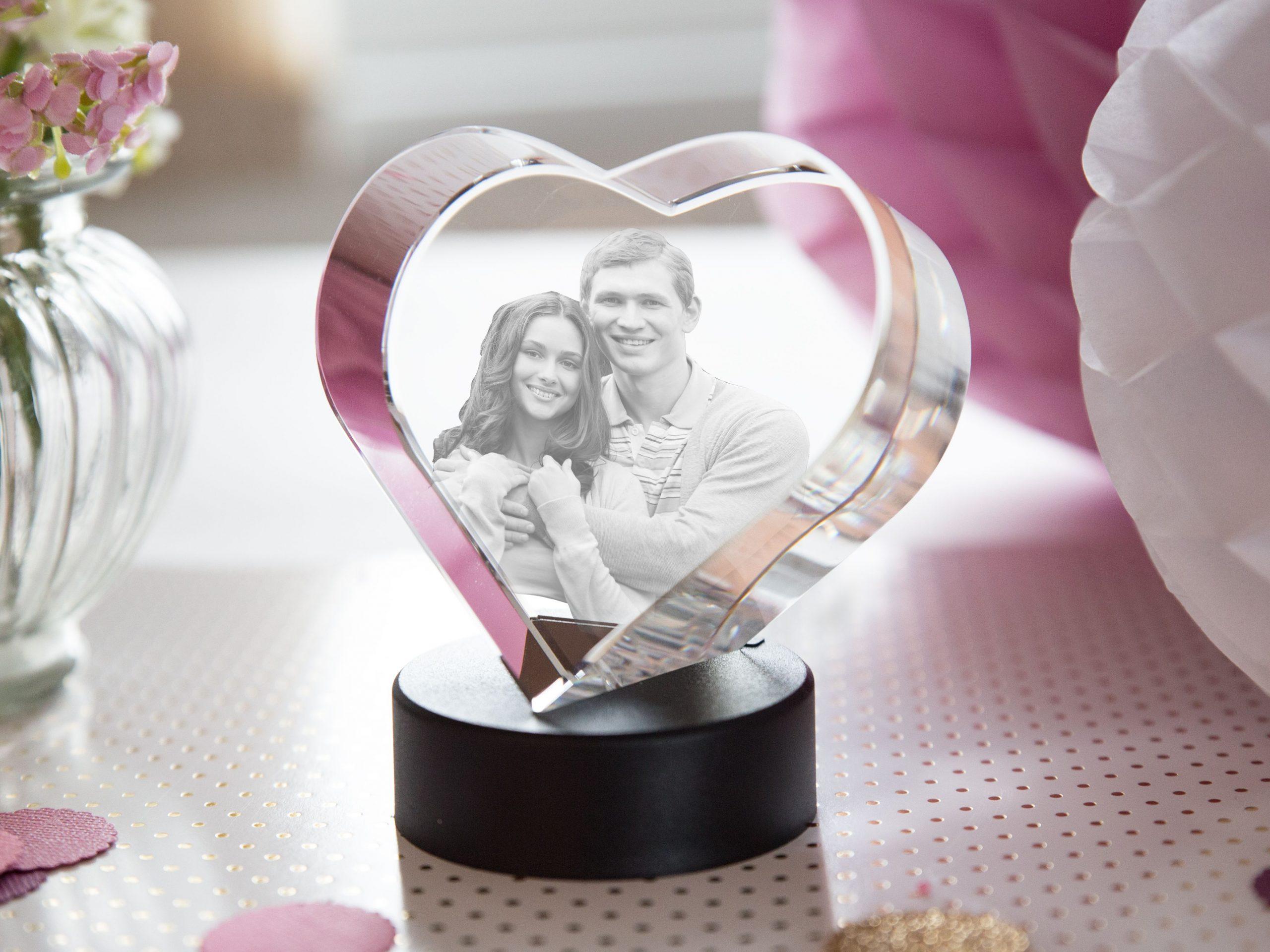Glasherz | Valentinstag Geschenk Frau, Valentinstag Geschenk ganzes Valentinstag Geschenke Für Frauen
