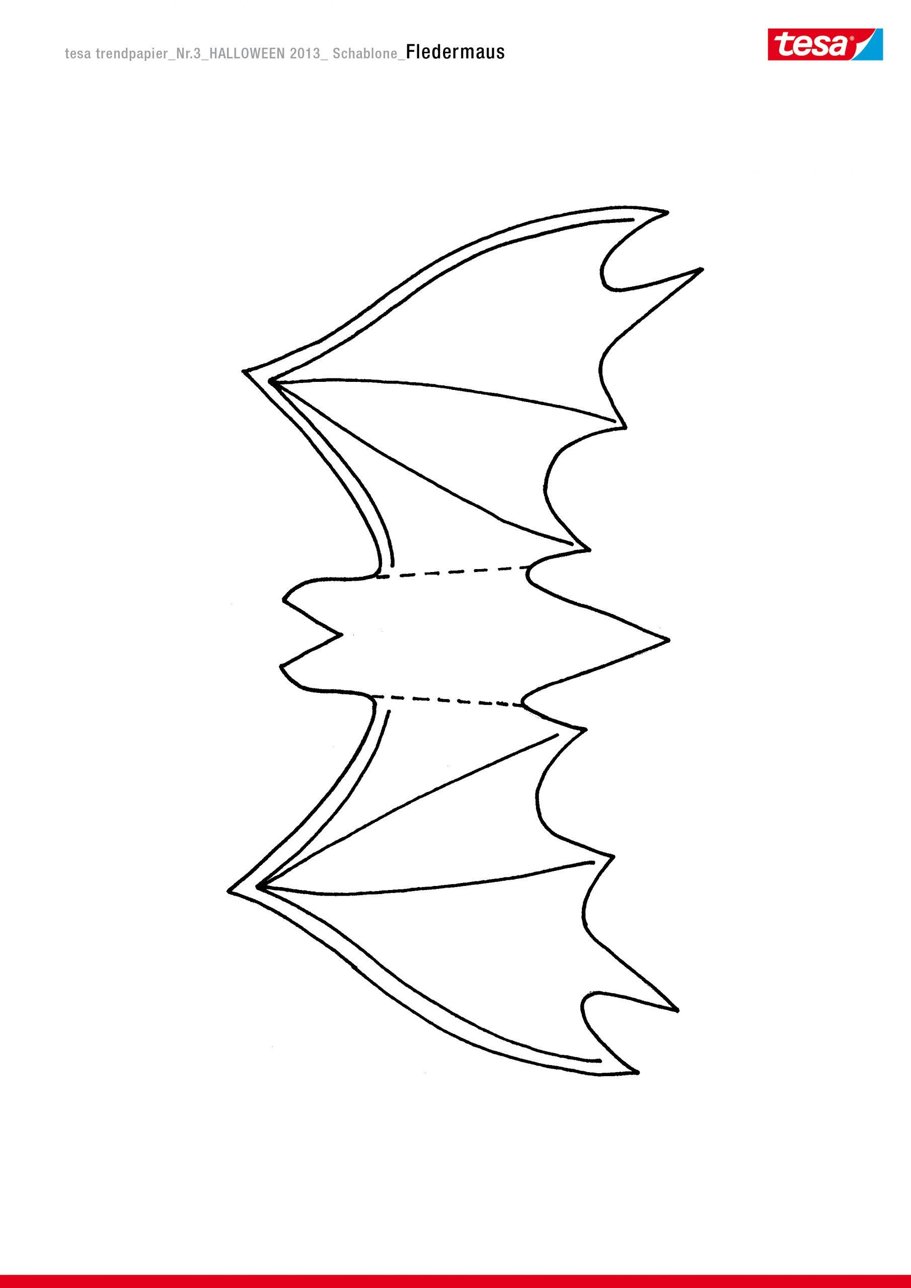 Glitzernde Fledermäuse - Tesa bestimmt für Fledermaus Schablonen Zum Ausdrucken