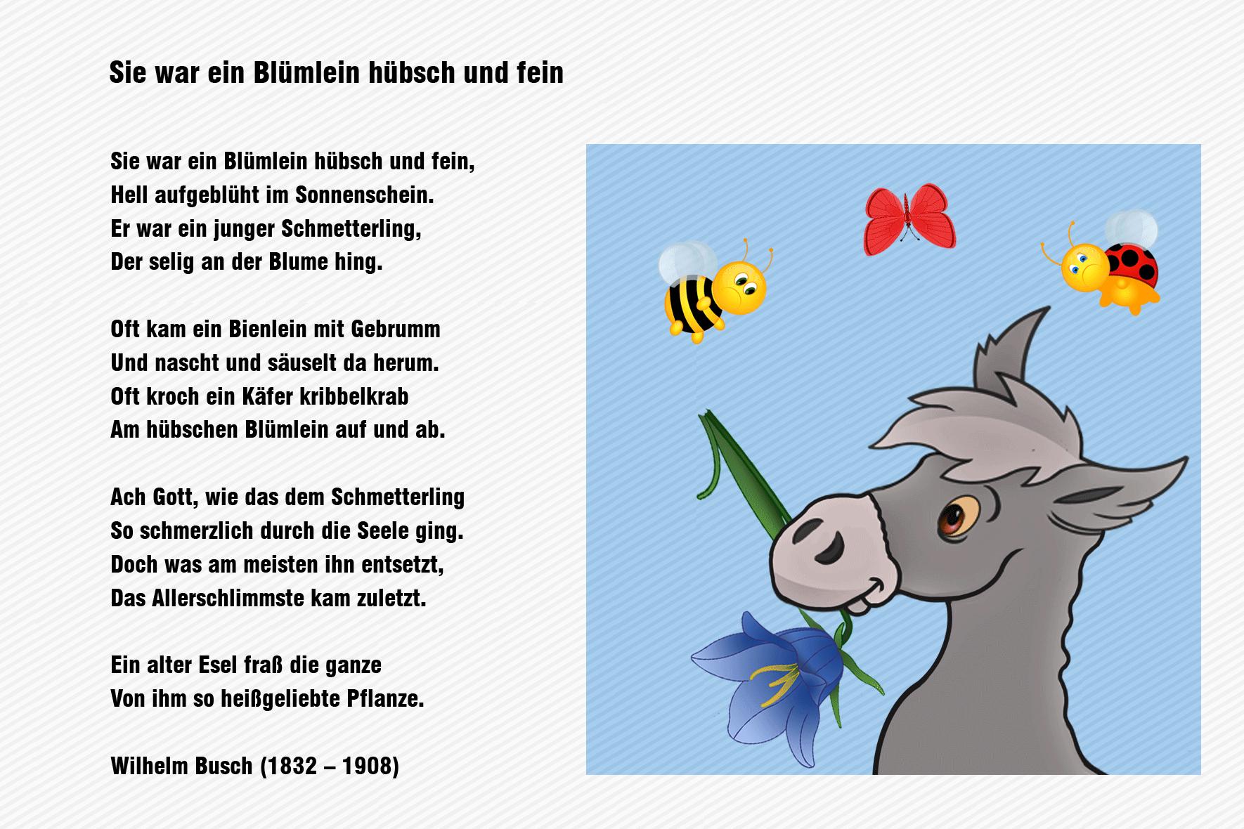 Glückwunsch Zum Geburtstag Wilhelm Busch | Liebe innen Wilhelm Busch Geburtstag Gedicht