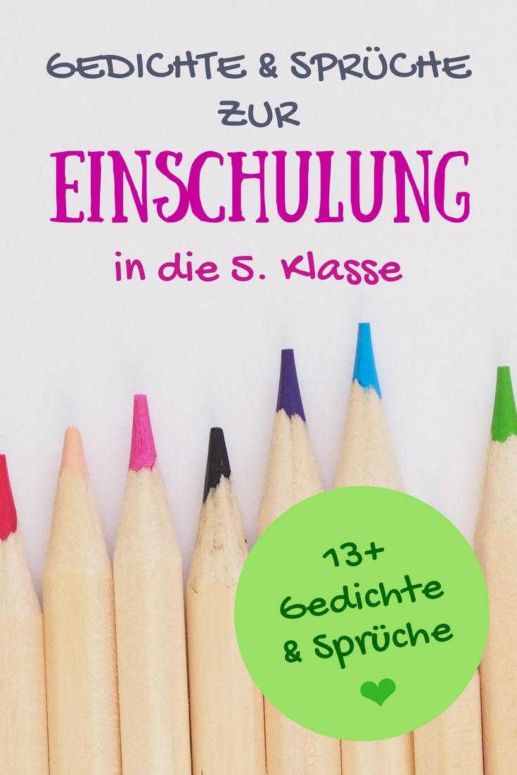 Glückwünsche Zur Einschulung In Die 5. Klasse: Sprüche für Lustige Sprüche Zur Einschulung Kostenlos