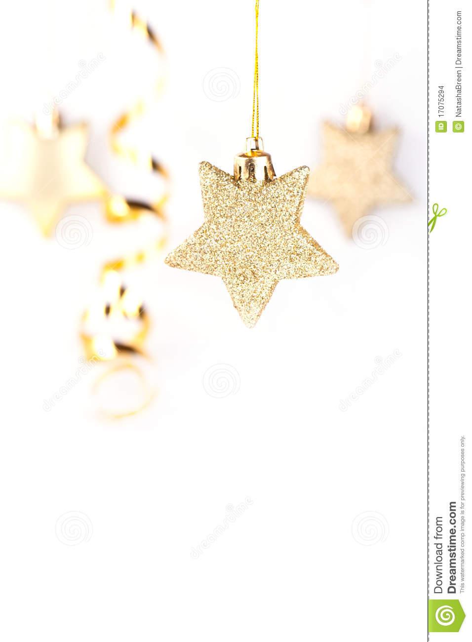 Goldene Weihnachtssterne Stockfoto. Bild Von Weihnachten in Goldene Weihnachtssterne