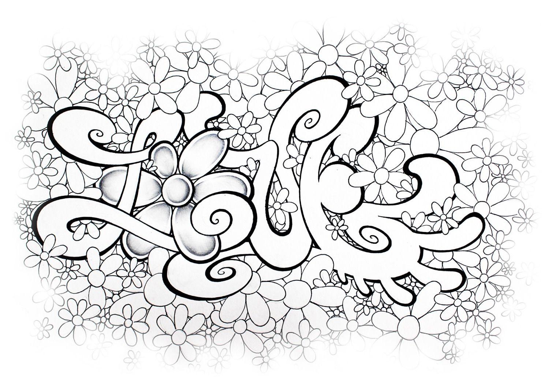 Graffiti Bilder Zum Ausmalen | Ausmalbilder Eurer für Ausmalbilder Graffiti