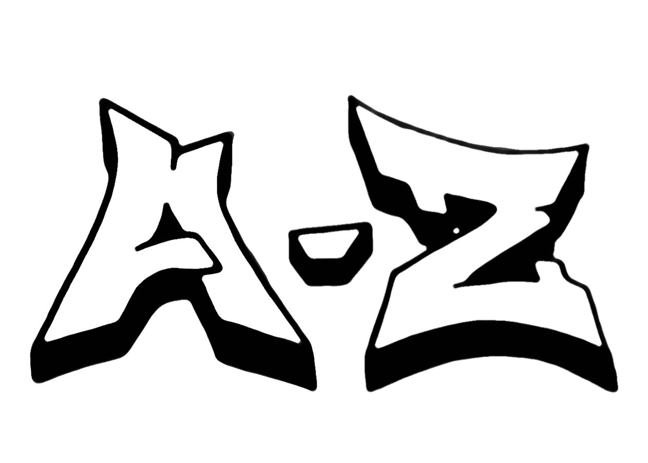 Graffiti Schrift | Graffiti Lernen | Graffiti Buchstaben ganzes Graffiti Alphabet Lernen