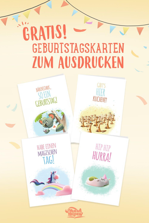 Gratis Geburtstagskarten   Geburtstagskarten Zum Ausdrucken verwandt mit Gratis Geburtstagskarten