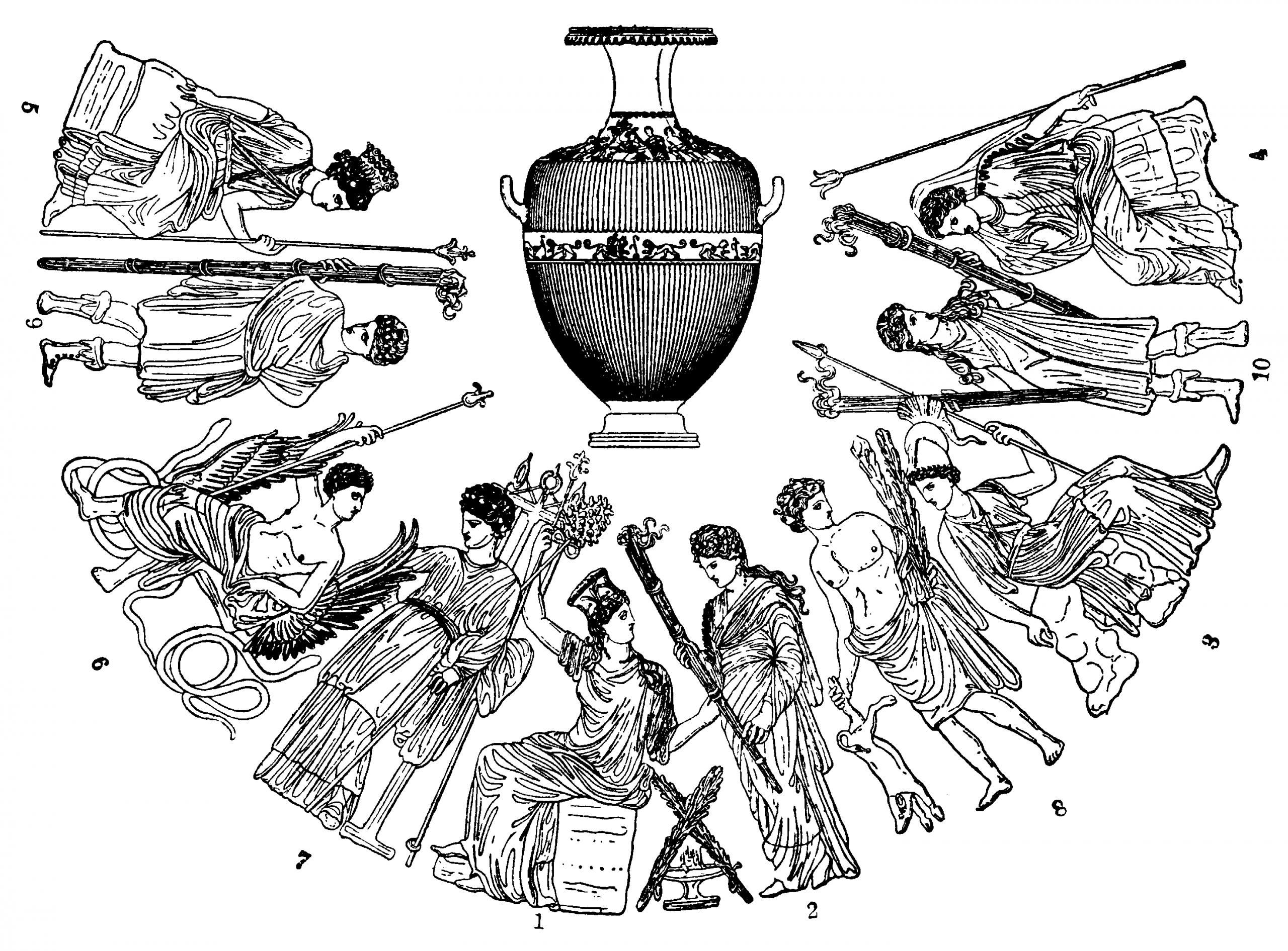 Griechische Mythologie – Wikipedia in Griechische Götter Bilder Und Namen