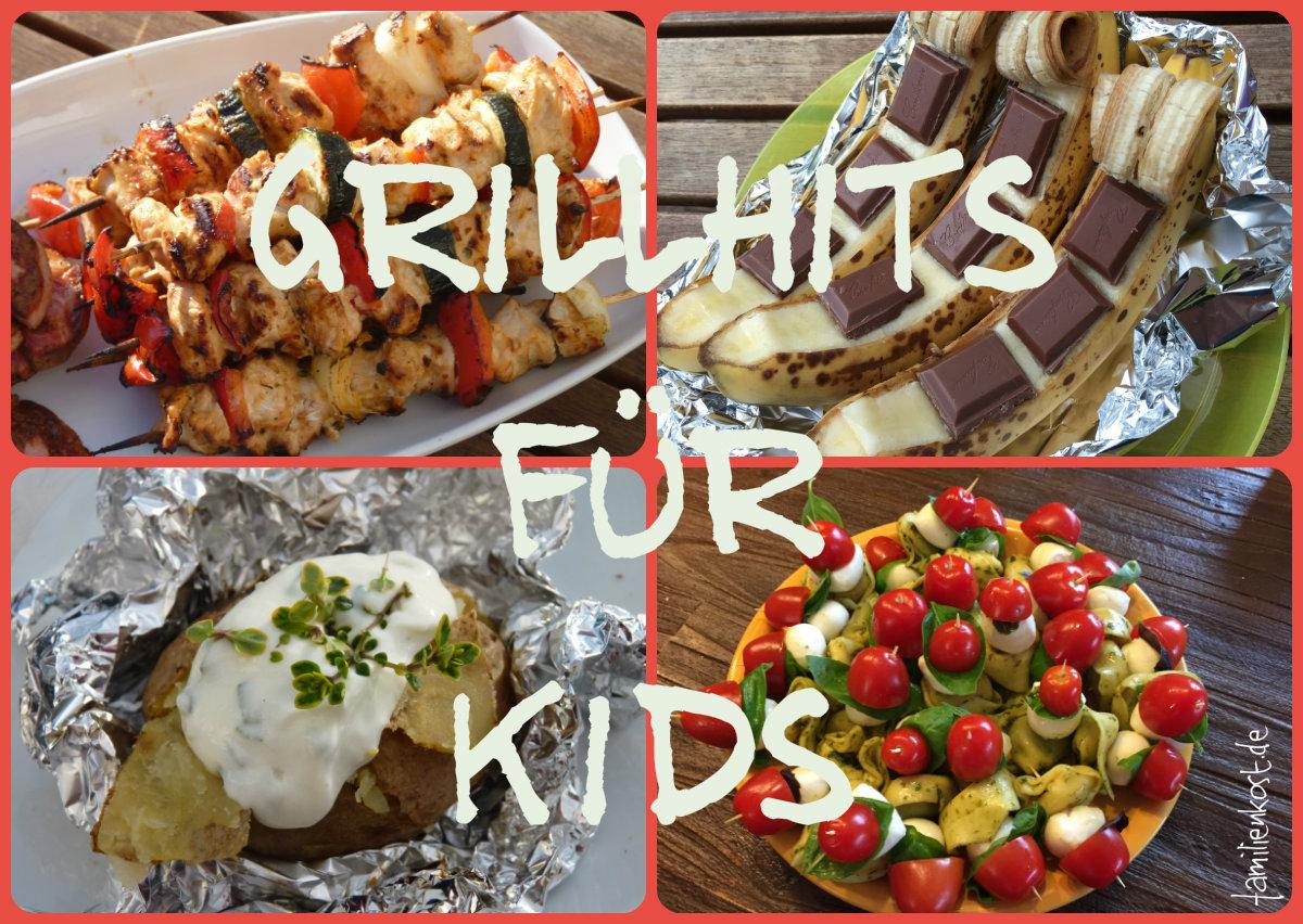 Grillrezepte Für Kinder Und Die Ganze Familie für Rezepte Familie