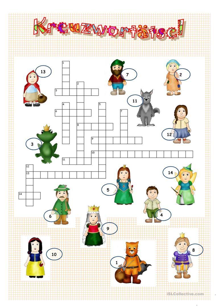 Grimms Märchen 1. (Mit Bildern) | Quiz Für Kinder, Grimms innen Märchenfigur Bei Grimm Kreuzworträtsel
