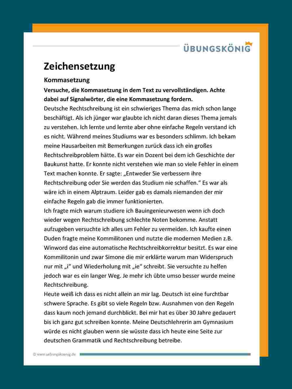 Groß- Und Kleinschreibung innen Text Groß Und Kleinschreibung 3 Klasse