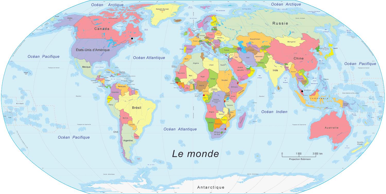 Groß Weltkarte Länder Kostenlos über Länder Der Welt Karte