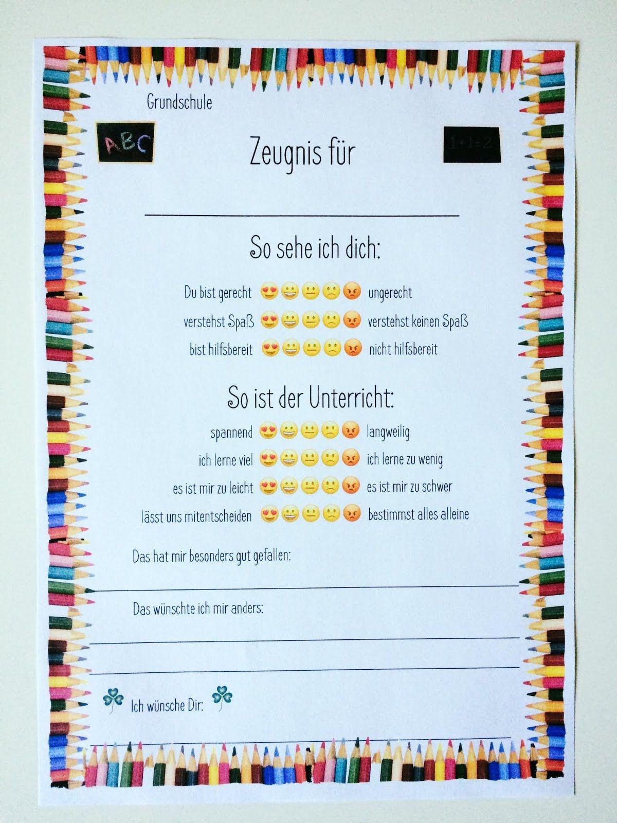 Grundschul_Teacher (Mit Bildern) | Zeugnis Grundschule ganzes Abschiedssprüche Für Lehrer Grundschule