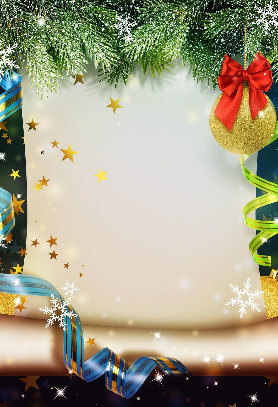 Gutscheinvorlagen Zu Weihnachten - Gutscheinspruch.de bei Vorlagen Weihnachtsmotive Kostenlos