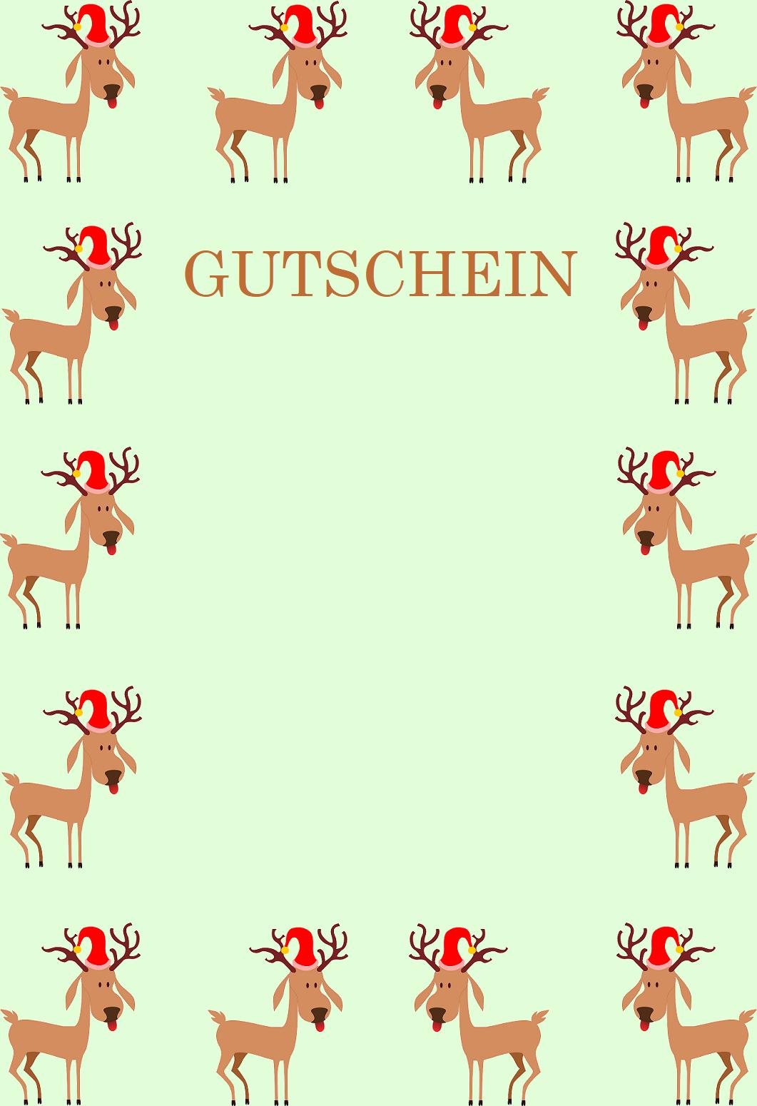 Gutscheinvorlagen Zu Weihnachten - Gutscheinspruch.de mit Weihnachts Vorlagen