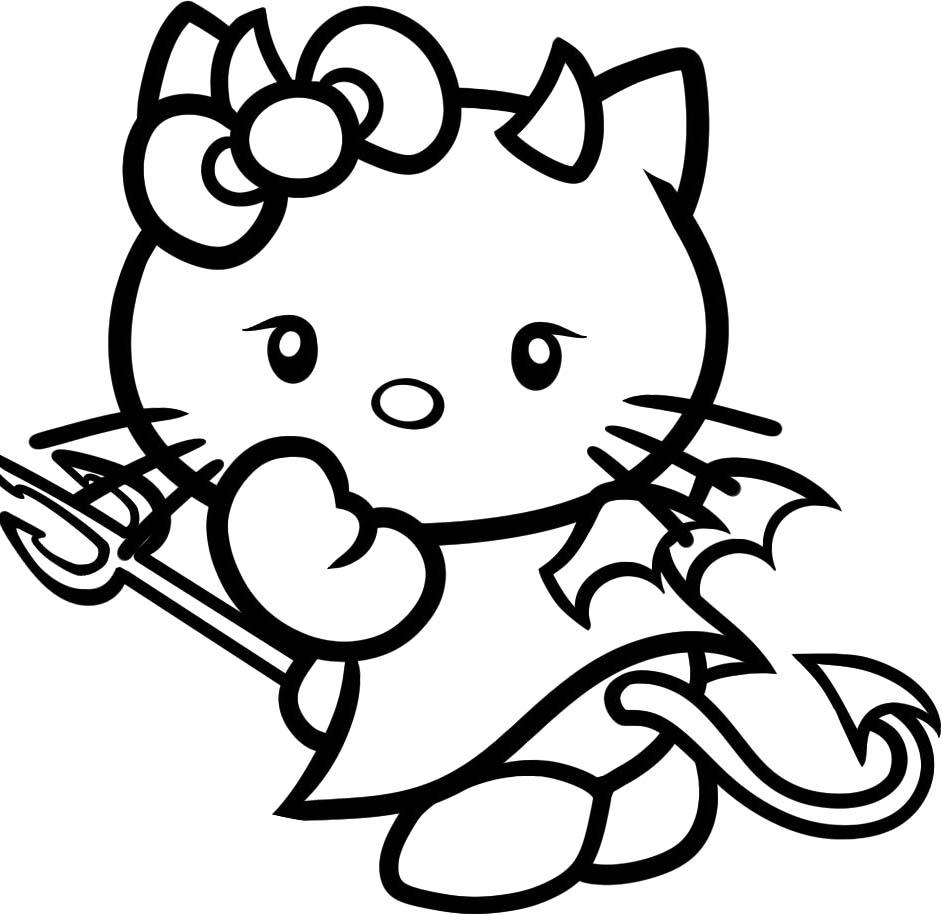 Hallo Kitty Malvorlagen Spiele - Malvorlagen Für Kinder für Hello Kitty Ausmalbilder Weihnachten